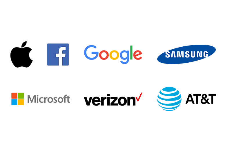 Logos for The Most Valuable Brands