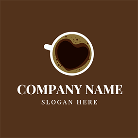 Black and Chocolate Coffee logo design