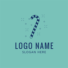 Blue and Green Sugar logo design