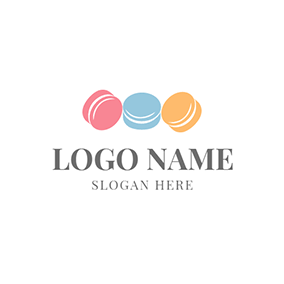Blue and Yellow Candy logo design