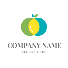 Decoration and Ripe Lemon logo design