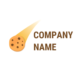 Delicious Yellow Cookies logo design