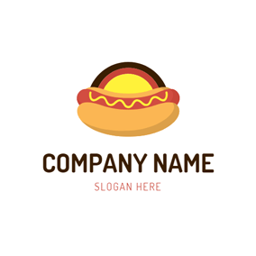 Double Deck Hot Dog logo design