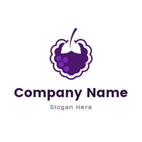 Fresh Mulberry Icon logo design