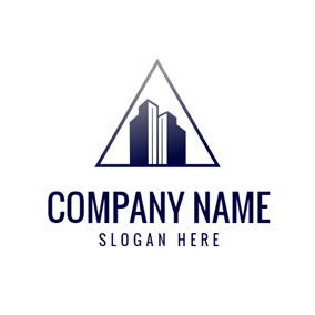 Grand Blue Skyscraper logo design