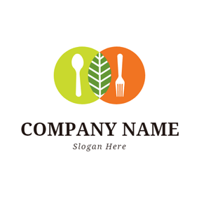 Green and Yellow Placemat logo design