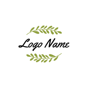 Green Branches and Leaves logo design