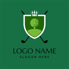 Green Golf Club logo design