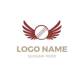 Red Wing and Cricket logo design