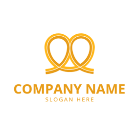 Simple Shape and Cookies logo design