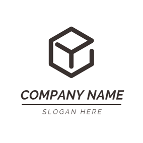 Small Brown Container logo design