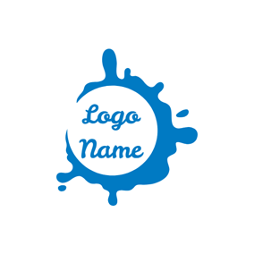 Splash Pure Milk logo design