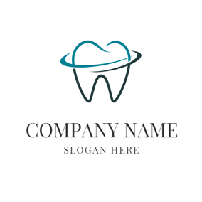 Strong Green Teeth logo design