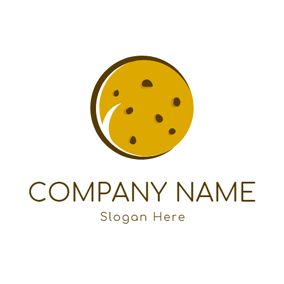 Sweet Yellow Cookies logo design