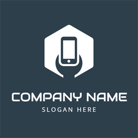 Tool and Black Mobile Phone logo design