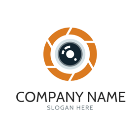 Visual Lens and Photography logo design