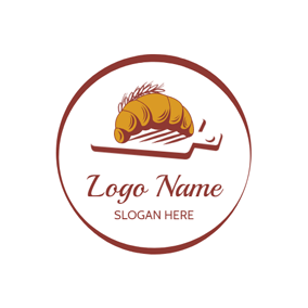 Wheat and Yummy Bread logo design