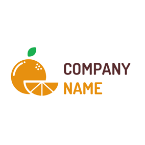Yellow Combination Orange logo design